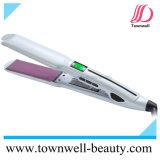 High Quality 230° C Nano Hair Flat Iron with LCD Display Hair Straightener