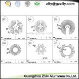Industrial Building Material Sunflower Aluminum Extrusion Heatsink