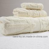 Cotton Custom Jacquard Logo Hotel Towel Set