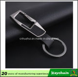 Hottest Custom Metal PU Leather Keychain