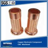 Copper Electronic Component with CNC Machined