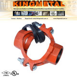Four Colors FM /UL Approved Ductile Iron Threaded Mechanical Cross.