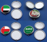 UAE/ Oman National Day Souvenir Gifts Flag Mirror with Logo Sticker