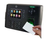 Fingerprint and ID Card Reader Access Control with Internal Camera (TFT700/ID)