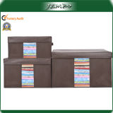 Household Bed Sheet Boxes Storage with Clear Window