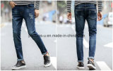 Hot Sale Mens Clothing Hole and Stretch Denim Jeans