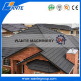 Chinese Antique Different Types Windproof Steel Stone Coated Roof Tiles