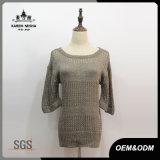 Women Half Sleeve Slim Fit Sweater