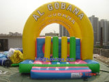 Commercial Use Inflatable Obstacle with Carton Printing (A514)