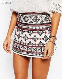 Africa Jacquard Ayla Mirror Mini Skirt