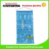 Blue Overdoor Closet PVC Window Hanging Organizer