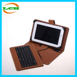 Universal Business Style Leather Tablet PC Case with Keyboard