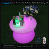 Round coffee Table of LED Furniture