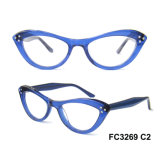 Top Sale Cat Eye Acetate Optical Frame for Lady FC3269