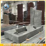Granite Headstone with Full Length Kerbs
