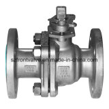 Stainless Steel Flanged End 2PC Ball Valve