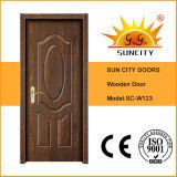 Luxury Interior Solid Wood Bedroom Door Design (SC-W123)