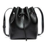 2016 Newest Women Genuine Leather Bucket Bag