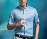 100%Cotton Men′s Short Shirt
