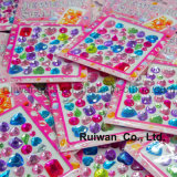 Wholesale Jewelry Seal Cell Phone Stickers for Mobile Phone Decoration
