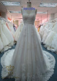 Wholesale New Style Beaded Lace Bridal Wedding Gown