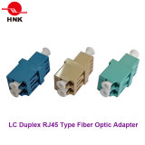 LC Duplex RJ45 Type Fiber Optic Adapter
