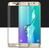 for Samsung Galaxy S6 Edge Full Curved 3D Tempered Glass LCD Screen Protector Gold