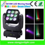 Matrix LED Moving Head 9X10W for DJ and Disco Lighting
