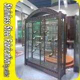 Custom Made Stainless Steel Wine Cabinet for Bar Restaurant Wine Rack