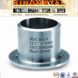 ANSI B16.9 A403 Wp304L 2X1/2 Inch Stainless Lap Joint Stub End