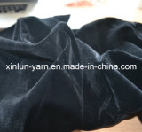 Wholesale 100%Polyester Plain Flocking Knitted Upholstery Fabric