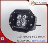 16 W 3inch 1000lm 12V LED Headlight for Truck 4X4 Offroad