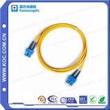 Manufacturer Fiber Optic Patch Cord Sc/Upc-Sc/Upc Single Mode Duplex