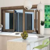 Aluminium Framed Bi-Folding Window and Door Prices (TS-1113)