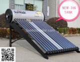 Compact Pressurized Solar Geyser with 25degree Flat Frame