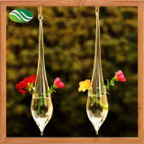 Christmas Decor Teardrop Hanging Glass Terrarium Vase