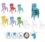 Durable Plastic Kid Study Chair, Kids Plastic Molded Chairs, Oversized Kids Chairs
