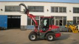 New Model Ce Farm Mini Loader (HQ910J) with Grapple Fork