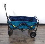 Folding Wagon Utility Cart Blue Garden Sports Beach Collapsible