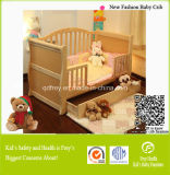 Safety Baby Product of Wood Baby Cib