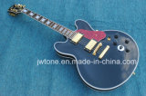 Hollow Body Arched Top Multi Binding Top Back Pearl White Block Inlay Quality Jazz Electric Guitar