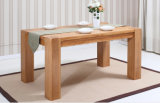 Solid Oak Wood Dining Table Best Quality Dining Table (M-X1015)
