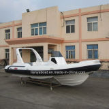 Liya 16 Passengers Rigid Hypalon Inflatable Rib Boat Made in China