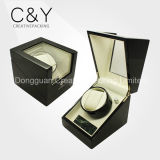 Price High Gloss Lacquer Single Wooden China Automatic Watch Winder Black
