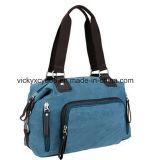 High Quality Canvas Leisure Shopping Travel Handbag Bag (CY1817)