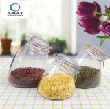 500ml Large Crooked-Neck Glass Jar with Lid