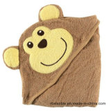 Cute Designs of Baby Hooded Bath Towel with High Quality