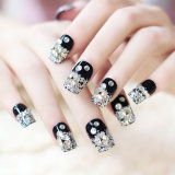 Cosmetics for Nail Beauty Decoration Nail Art with Crystal and Flowers