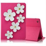 Flower Wallet Case for iPad 2