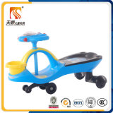 Simple Design Baby Swing Car with Front Basket